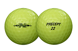 Bridgestone Golf Laddie Precept Golf Ball Yellow
