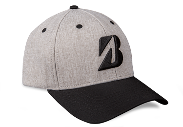 Bridgestone Golf Heather Combo Hat Black