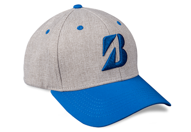 Bridgestone Golf Heather Combo Hat Blue