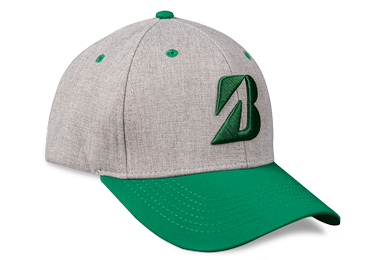 Bridgestone Golf Heather Combo Hat Green