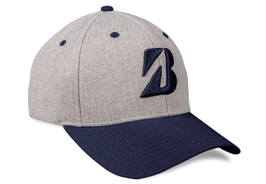 Bridgestone Golf Heather Combo Hat Navy