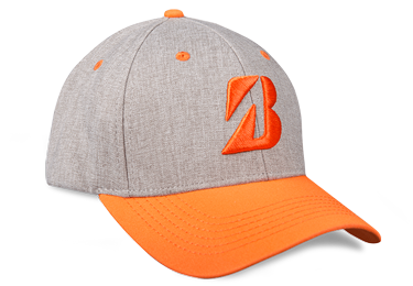 Bridgestone Golf Heather Combo Hat Orange